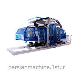 عکس ماشین آلات تولید جدول و سنگ فرش پیاده روخط تولید تمام اتوماتیک سنگ فرش زن TP.RN3036