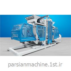 عکس ماشین آلات تولید جدول و سنگ فرش پیاده روخط تولید تمام اتوماتیک سنگفرش، بلوک و جدول TP.RN2025