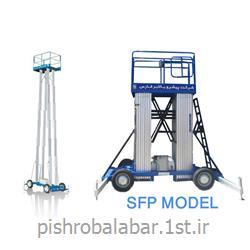 بالابر هیدرولیکی چهار ریل مدل SFP