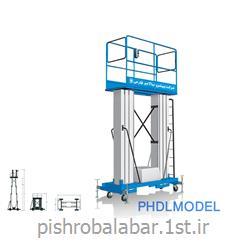 عکس بالابربالابر هیدرولیکی دو ریل مدل PHD
