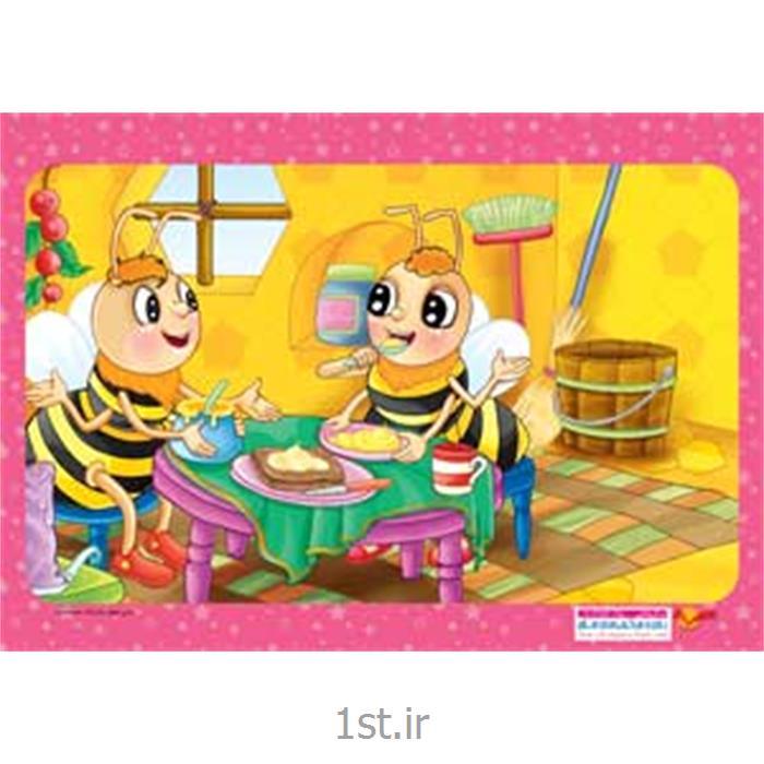 عکس پازلجورچین (پازل )کودکانه 35 تکه ای زنبور - نشر جمال