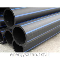 لوله پلی اتیلن  125 میلیمتر 10 بار PE80