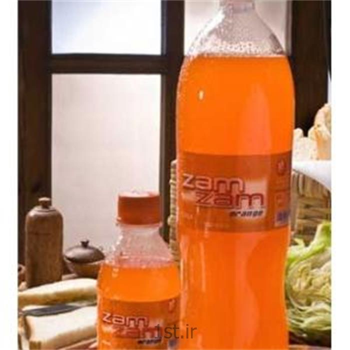 عکس نوشابه های گازدارزمزم پت پرتقالی