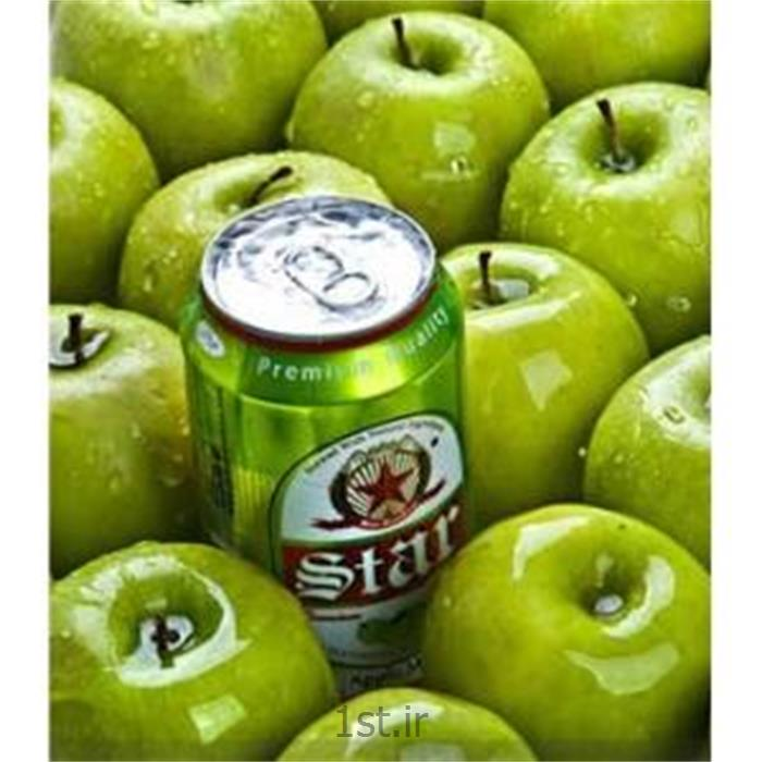 عکس نوشابه های گازداراستار قوطی سیب