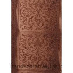 کد کاغذدیواری : 998128 رنگ کاغذ دیواری نسکافه ای قهوه ای گلدار برای طراحی و دکوراسیون داخلی