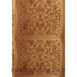کد کاغذدیواری : 998127 رنگ طلایی نسکافه ای گلدار برای استفاده در طراحی و دکوراسیون داخلی منزل