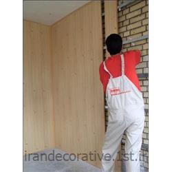 عکس کاغذ دیواری و دیوار پوشطراحی و اجرای دکوراسیون داخلی سقف کاذب و دیوار کاذب
