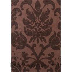 کد کاغذدیواری : 998176 رنگ کاغذدیواری قهوه ای شکلاتی طرح دار برای طراحی و دکوراسیون داخلی منزل