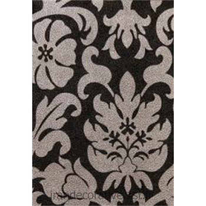 کد کاغذدیواری: 998175 رنگ کاغذ دیواری مشکی نقره ای طرح دار برای استفاده در طراحی و دکوراسیون داخلی منزل