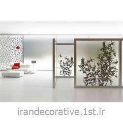 طراحی 3 بعدی فضای مسکونی(ایران دکوراتیو) با دیوارپوش طرحدار پی وی سی آذران پلاستیک رنگ سفید