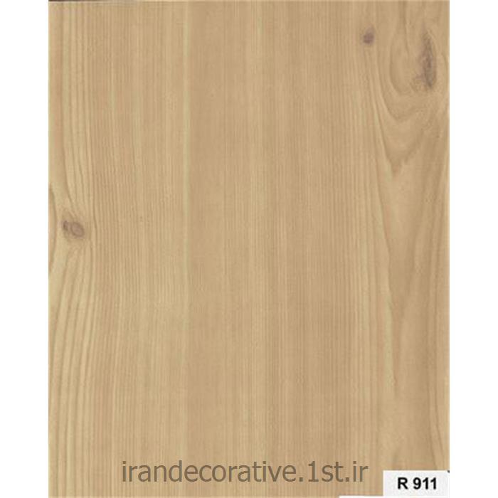 دیوارپوش و سقف کاذب آذران پلاستیک پانل pvc کد R911 رنگ کرم با رگه چوب