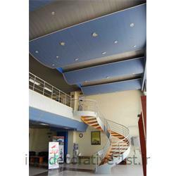 طراحی و اجرای سقف پوش و دکوراسیون داخلی فضای اداری با دیوارپوش پانل پی وی سی آذران پلاستیک طرحدار توسط ایران دکوراتیو