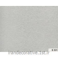 عکس کاغذ دیواری و دیوار پوشدیوارپوش و سقف پوش پانل pvc آذران پلاستیک کد S 531 رنگ طوسی