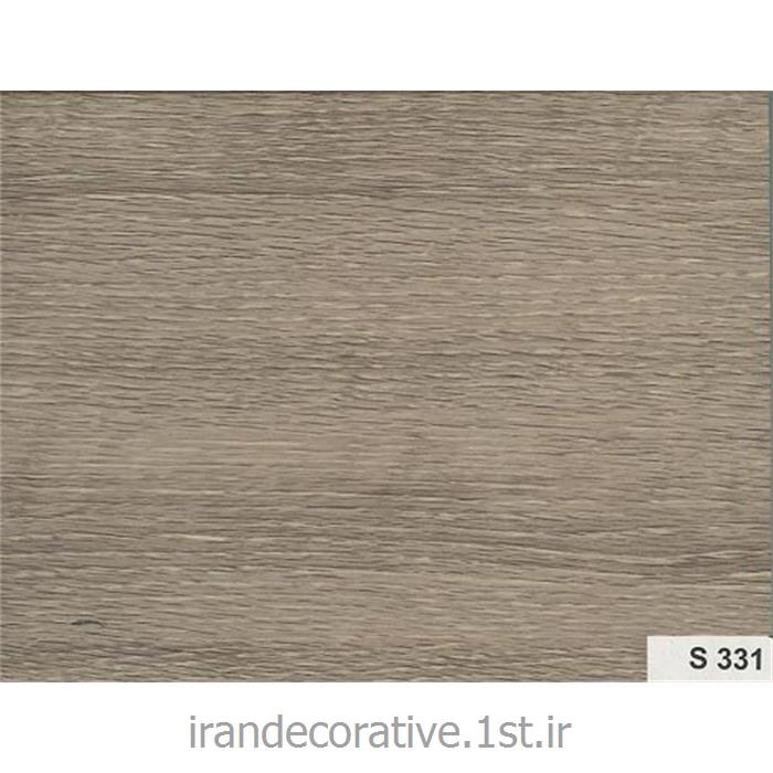 دیوارپوش و سقف کاذب آذران پلاستیک پانل pvc کد S 331 رنگ طوسی با رگه های چوبی