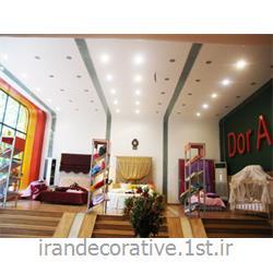 دیوارپوش وسقف پوش پانل pvc آذران پلاستیک و دیوار کاذب و سقف کاذب 60*60 کناف در طراحی منازل و دکوراسیون