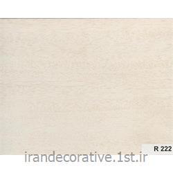 دیوارپوش و سقف پوش پانل پی وی سی آذران پلاستیک کد R 222 رنگ دیوار پوش سفید با رگه های چوبی