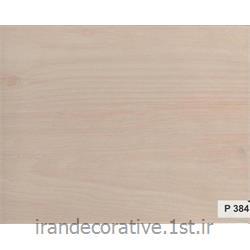 دیوارپوش و سقف کاذب آذران پلاستیک پانل pvc کد P384 رنگ کرم با رگه چوب