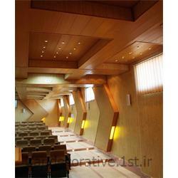 عکس کاغذ دیواری و دیوار پوشاجرای سقف پوش طرحدار آنفی تاتر (ایران دکوراتیو) با دیوارپوش pvc آذران پلاستیک