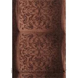 کد کاغذدیواری : 998129 رنگ نسکافه ای قهوه ای گلدار برای طراحی و دکوراسیون داخلی منزل