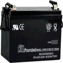 عکس باتری (باطری) خشکباتری 12 ولت 100 آمپرساعت فاراتل - Faratel Battery 12V-100 AH