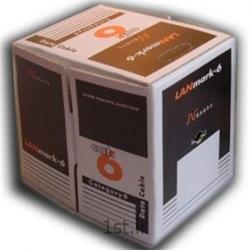 کابل نگزنس کت 6 -کابل 4زوج نارنجی 305متری-Nexans cate6 cable