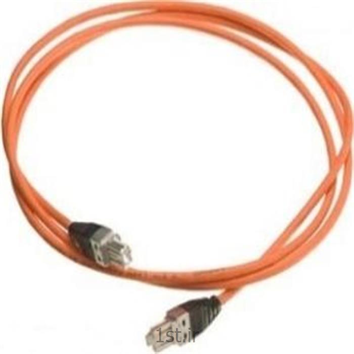 پچ کورد یک متری با دو سر GG-45 نگزنس کت 7 - Nexans patch cord 1m GG-45/GG-45 Cate 7