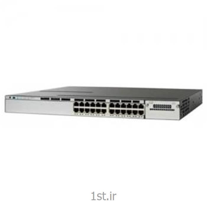 سوییچ سیسکو 24پورت SWITCH Cisco WS-C3750X-24P-L