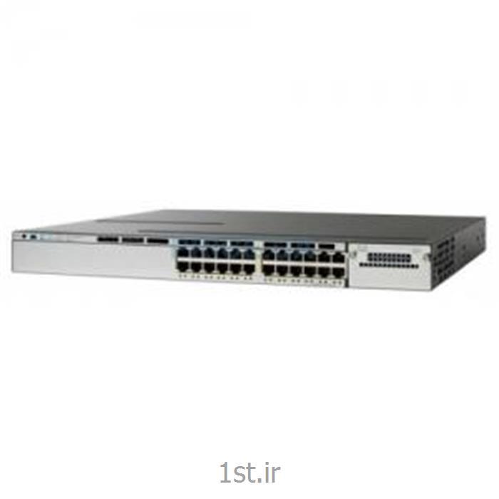 سوییچ سیسکو 24پورت SWITCH Cisco WS-C3750X24T-S