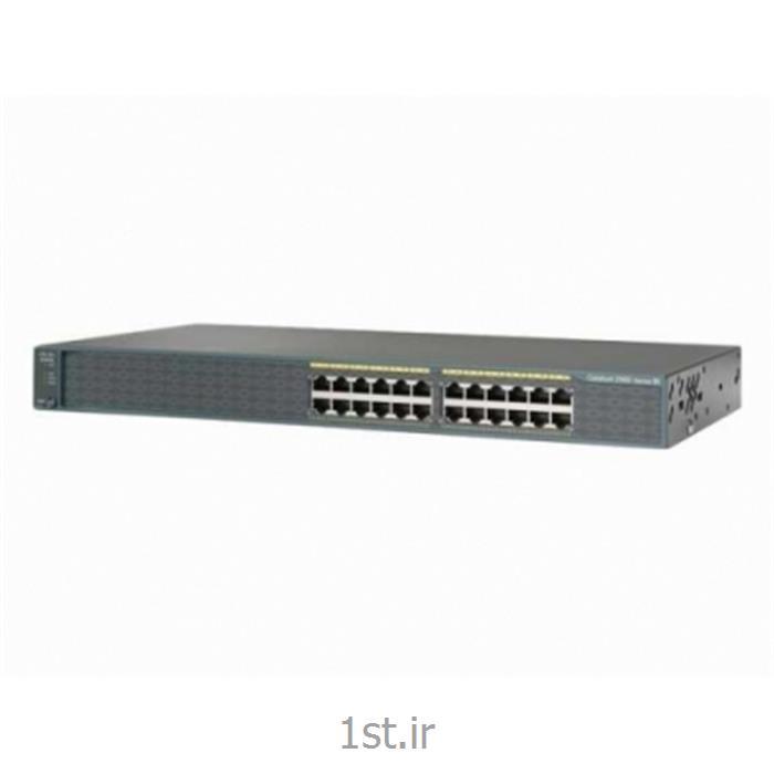 سوییچ سیسکو 24پورت Cisco WS-C2960S-24TS-S