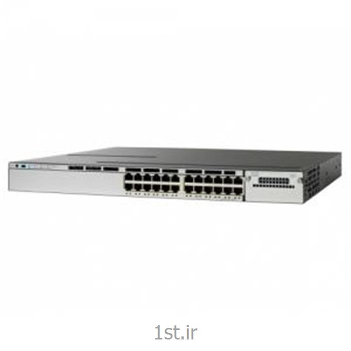 سوییچ سیسکو 24پورت SWITCH Cisco WS-C3750X-24T-L