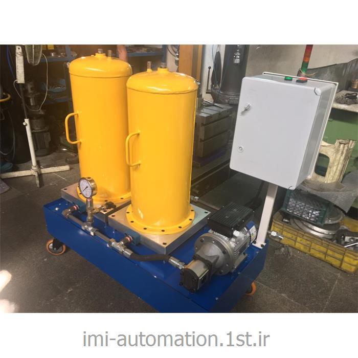 سیستم فیلتراسیون روغن میکرونیزه آف لاین ثابت و پورتابل IMI-HFU-24