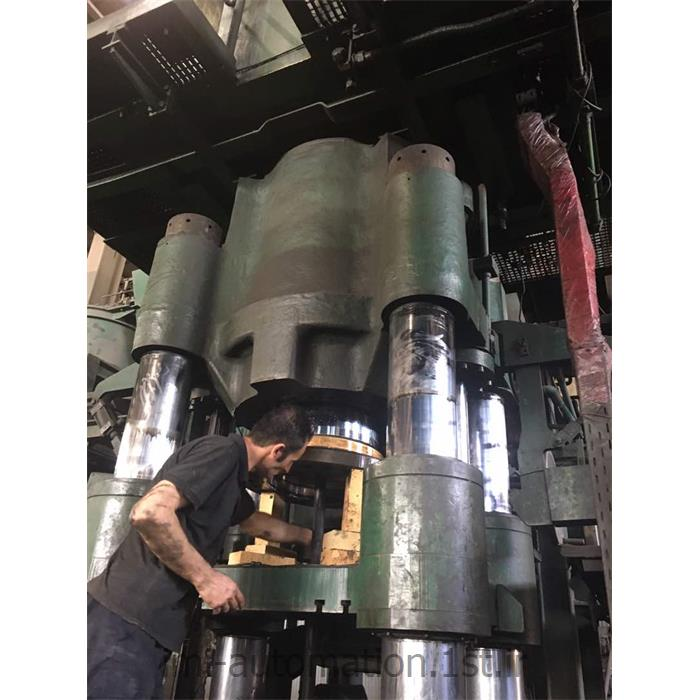 تعمیرات اساسی (Overhaul) و نگه داری پرس های هیدرولیک