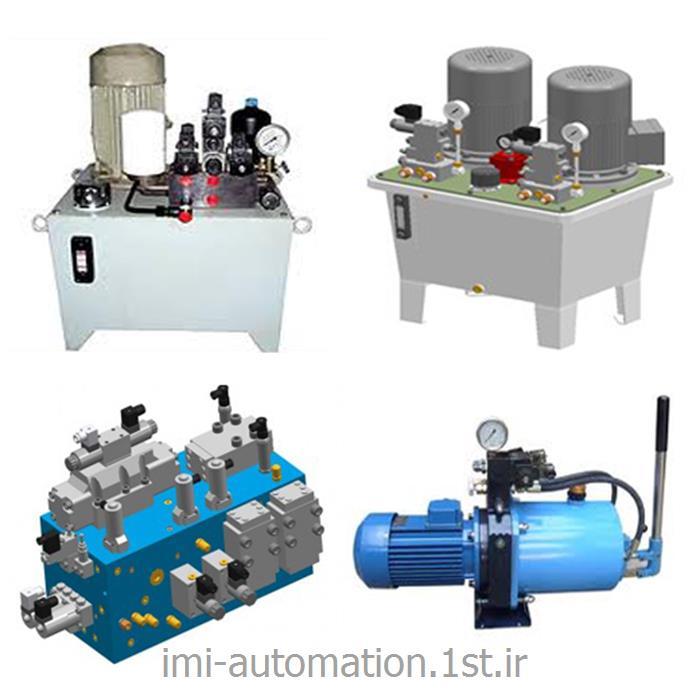 طراحی و ساخت یونیت هیدرولیک