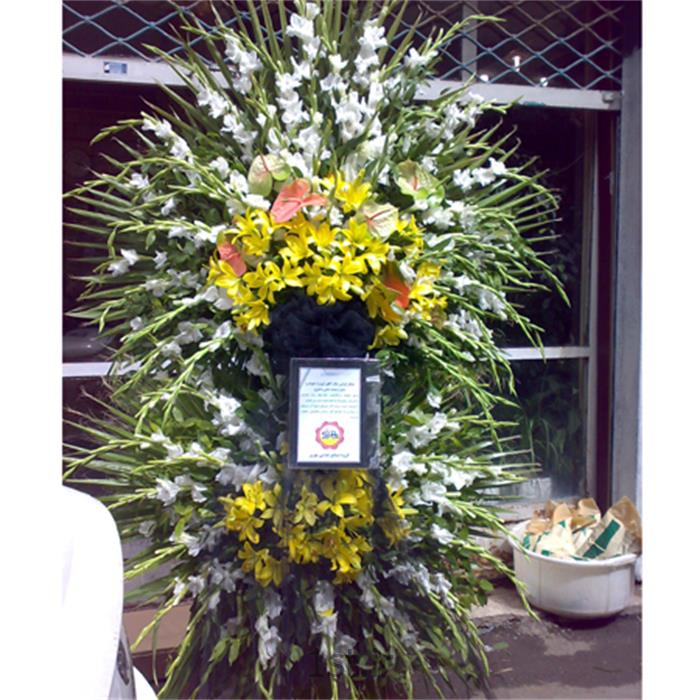 عکس شاخه گل تازهتاج گل، آنتوریوم ، گلایل ، لیلیوم ، مدل 104