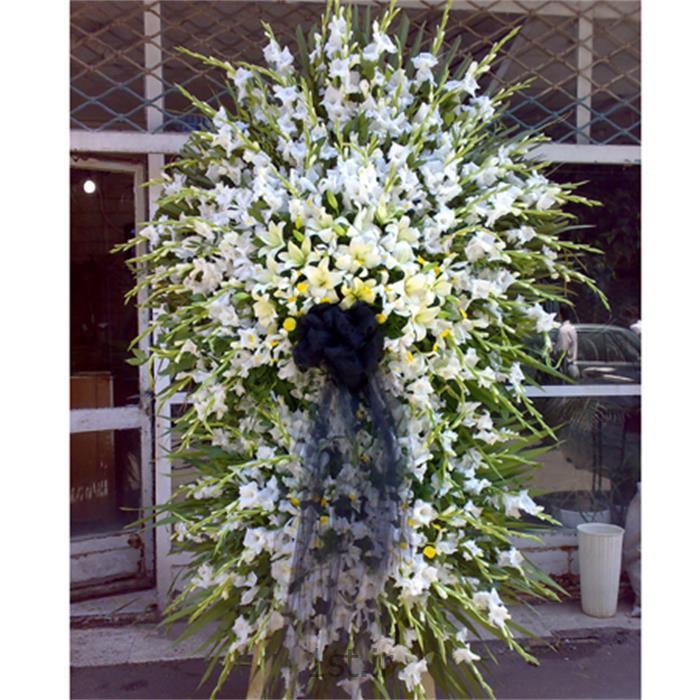 عکس شاخه گل تازهتاج گل،گلایل، لیلیوم،زنبق،مدل 102