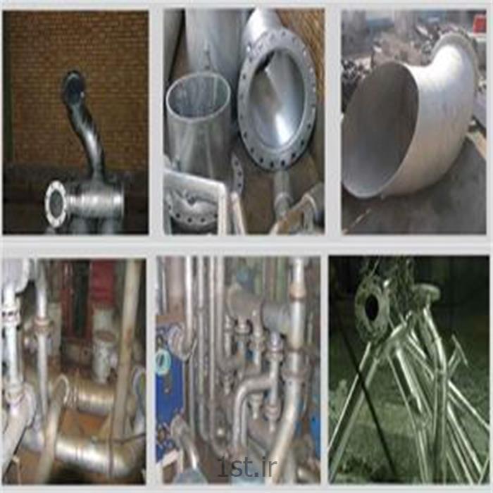 گالوانیزه گرم قطعات فلزی کشتی
