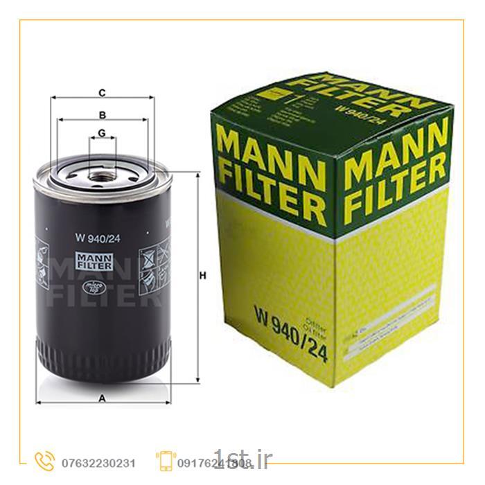 فیلتر روغن و هیدرولیک MANN شماره940/24
