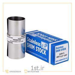 عکس ورق فولاد ضد زنگورق شیم ضخامت 0.005 اینچ ضد زنگ (Stainless Steel Shim)