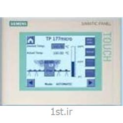 عکس پی ال سی (PLC)تاچ پنل زیمنس مدل TP177 Micro Touch Panel
