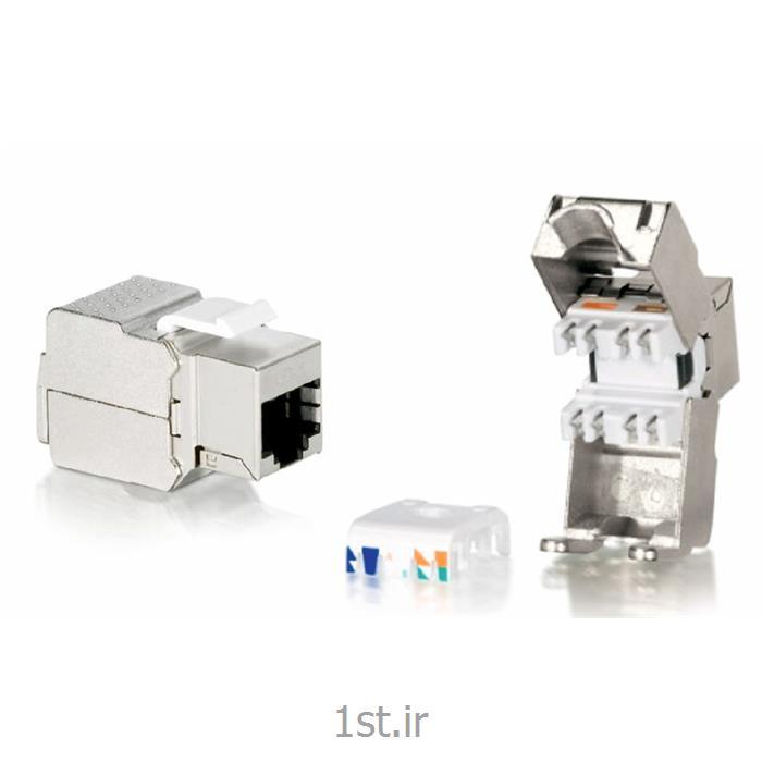 کیستون شبکه هومر تجهیزات شبکه cat6 keystone jack