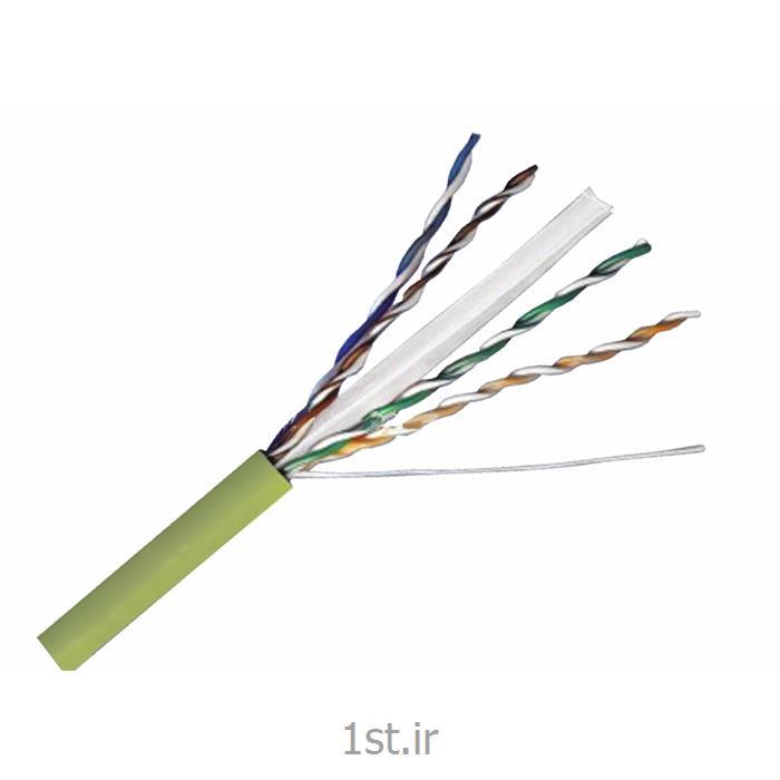 عکس کابل شبکه و پچ کوردکابل شبکه هومر مدل cat 6 utp تجهیزات شبکه با روکش کابل LSZH