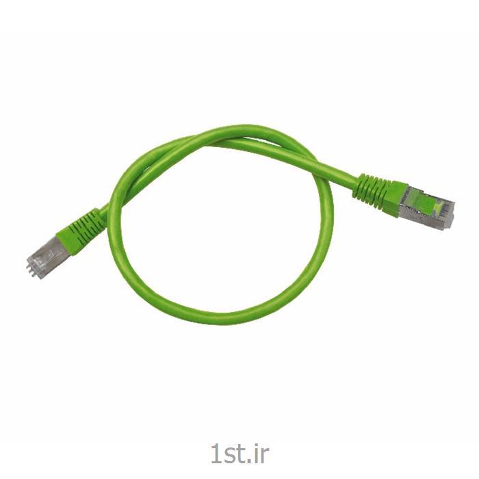 عکس کابل شبکه و پچ کوردپچ کورد cat 6 utpنیم متری(homer patchcord 0.5 m)
