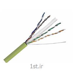 عکس کابل شبکه و پچ کوردکابل شبکه هومر مدل cat 6 utp با روکش کابل LSZH