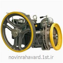 موتور گیربکس آسانسور الکمپ ایتالیا 5.5 کیلووات دوسرعته<