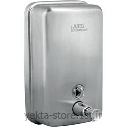 عکس صابون ریز و جای مایع دستشوییجا مایع استیل پمپی بیمر مدل 054-Bimeer