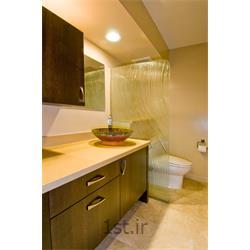 عکس اتاقک دوشکابین دوش شیشهای جیلاکس - یک پنل ثابت - قاب آلومینیومی نقرهای