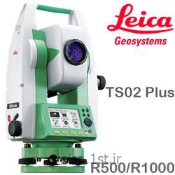 توتال استیشن Leica مدل TS02 plus R500 2015