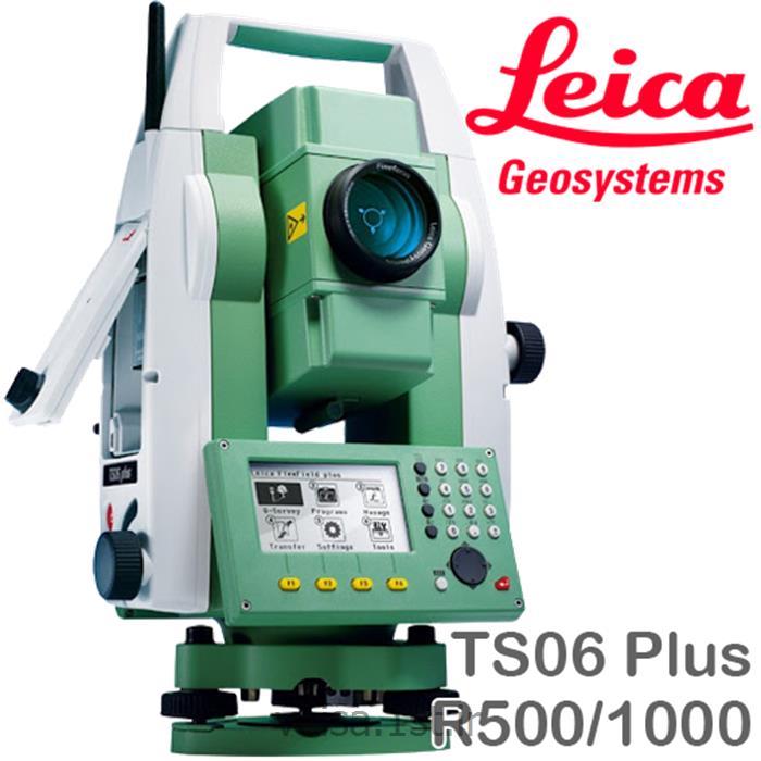 عکس توتال استیشندوربین توتال استیشن Leica مدل TS06 Plus R500