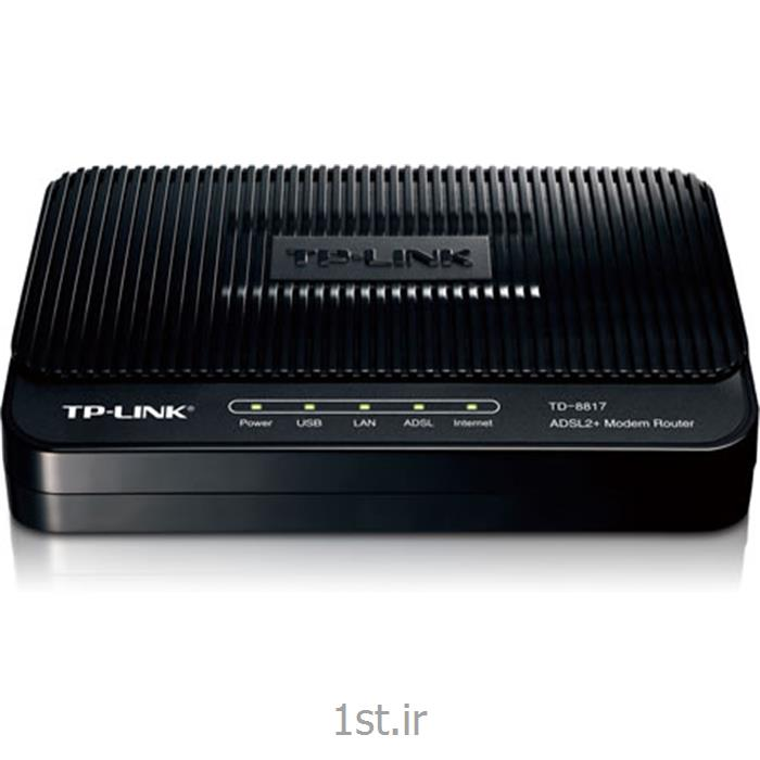 عکس مودممودم کمبو Combo modem TD-8817 تی پی لینک TPLINK
