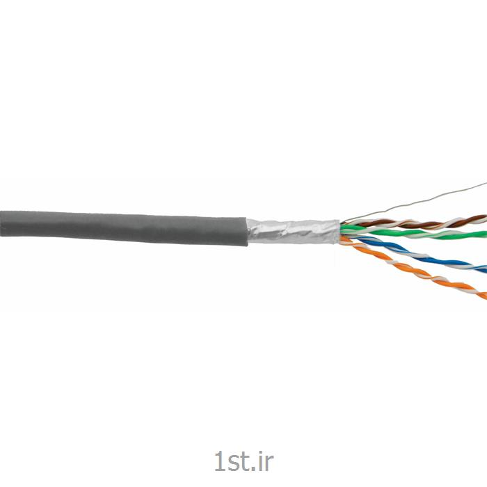 کابل شبکه STP cat6 Cable NCB-C6SGRYR-305 دی لینک